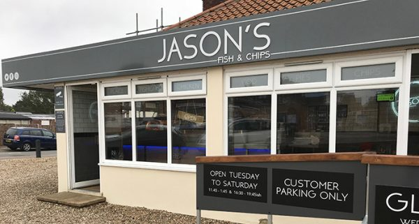 Jason's Plaice exterior