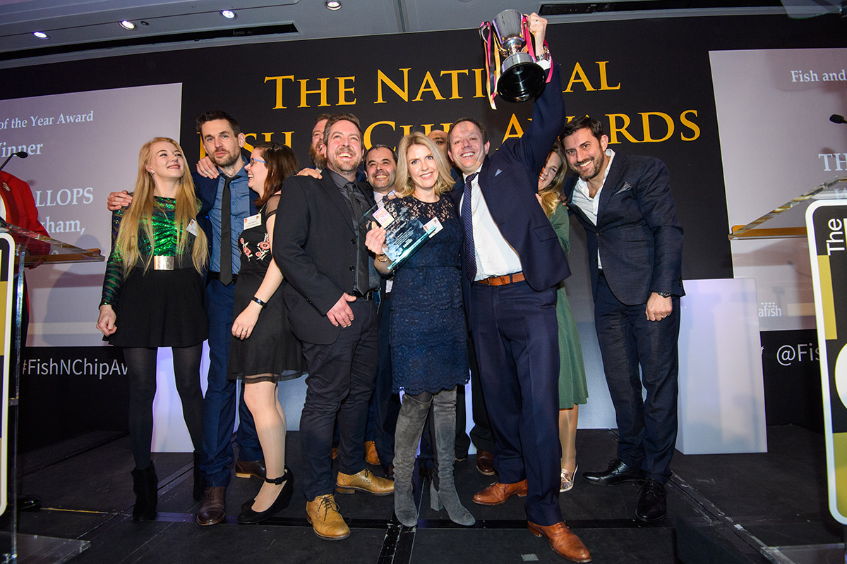 National Fish and Chip Awards 2020 Winners - The Cod's Scallops