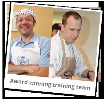 Award winning training team