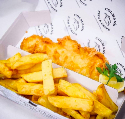 Colmans Fish & Chips, South Shields