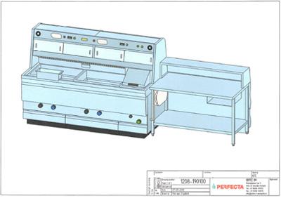 2 Pan Perfecta Counter Range