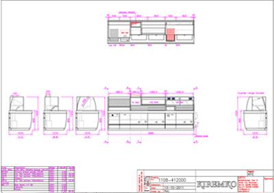 Kiremko 3 Pan Sonado Counter Range